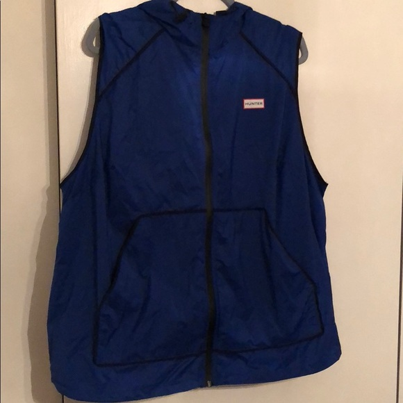 Target Vest Hunter For Rain Blue DHIW9EY2